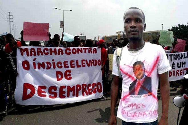 Desemprego leva jovens à rua para manifestação sábado em Luanda