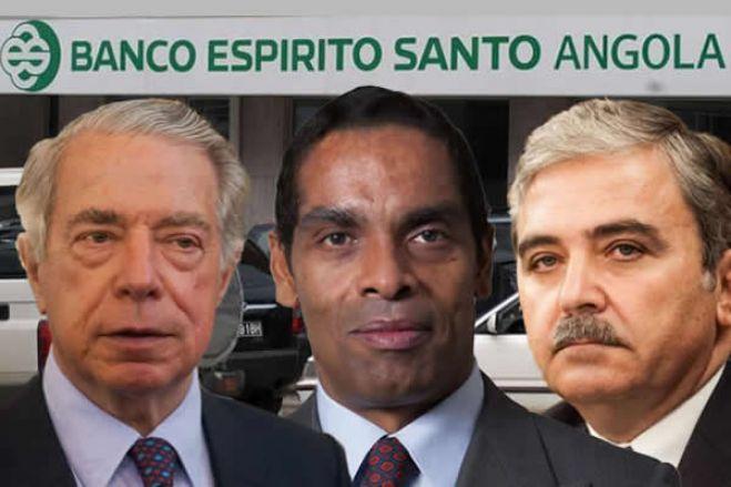 Banqueiros suspeitos de desviar centenas de milhões de euros do BESA