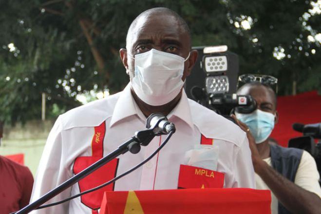 Bento Bento anuncia mudanças nos comités municipais de Luanda