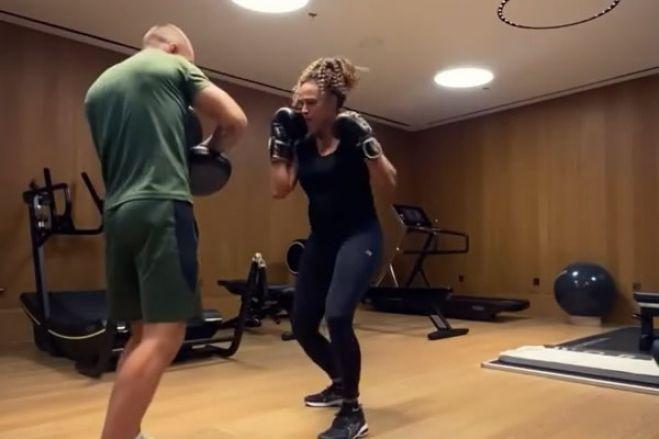 Treinador de Isabel dos Santos partilha vídeo da empresária a treinar kickboxing