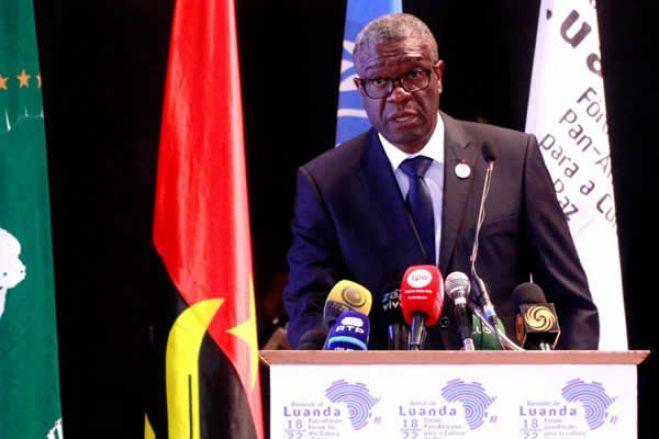 África está à beira da terceira colonização, diz vencedor do Nobel da Paz