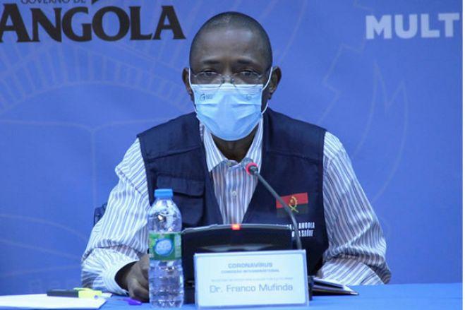 Covid-19: Angola com mais dois óbitos e 24 casos positivos, agora são 315