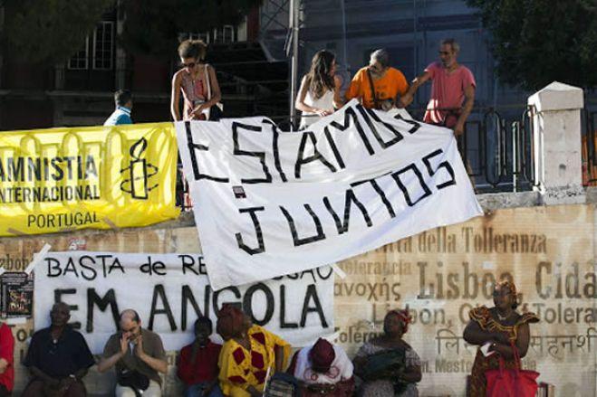 Angolanos em Portugal acusam Luanda de usar a covid-19 para silenciar protestos