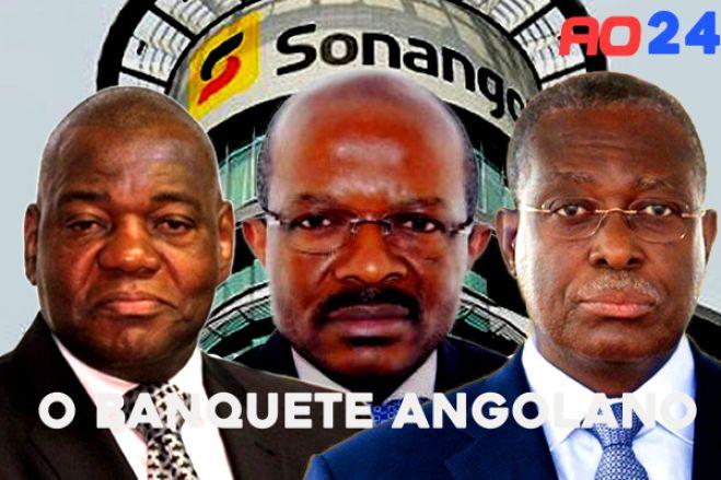 """""""O Banquete"""" - Angolanos que enriqueceram com o desvio de fundos públicos"""