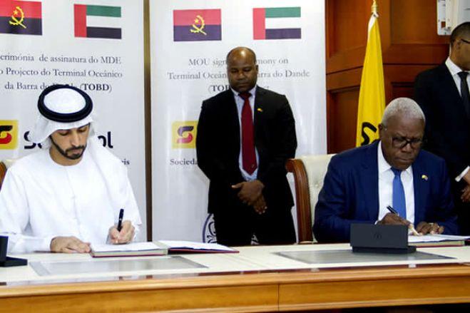 Xeque do Dubai deixa terminal do Dande, mas projeto continua - Governo