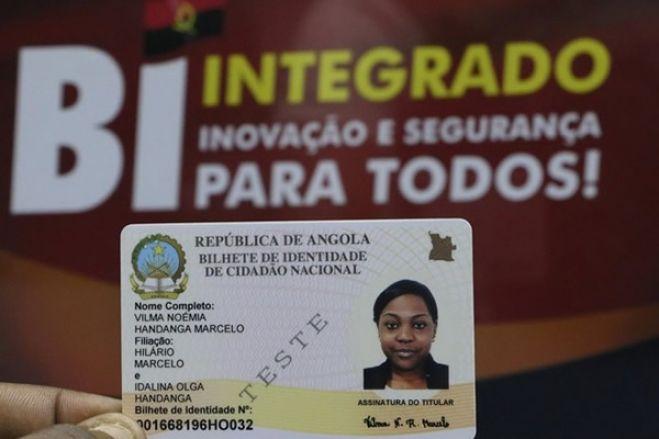 Angolanos vão emitir BI em Portugal já em Abril