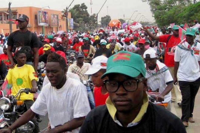 Caravana da UNITA retida pela polícia na província de Bié, acusado de Adalberto Costa Jr.