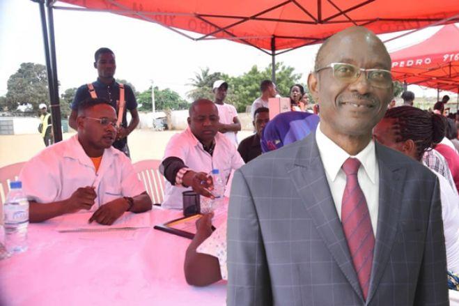António Venâncio com carta branca para recolher duas mil assinaturas para concorrer às eleições do MPLA