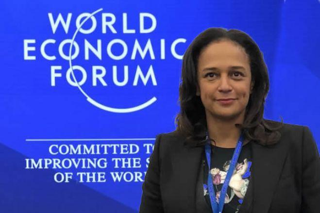 Nome de Isabel dos Santos removido da lista de participantes da cimeira de Davos