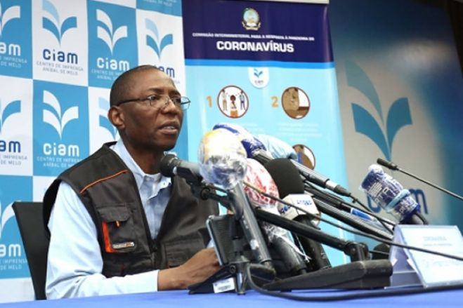 Primeiro paciente infectado com coronavírus em Angola está curado, diz secretário