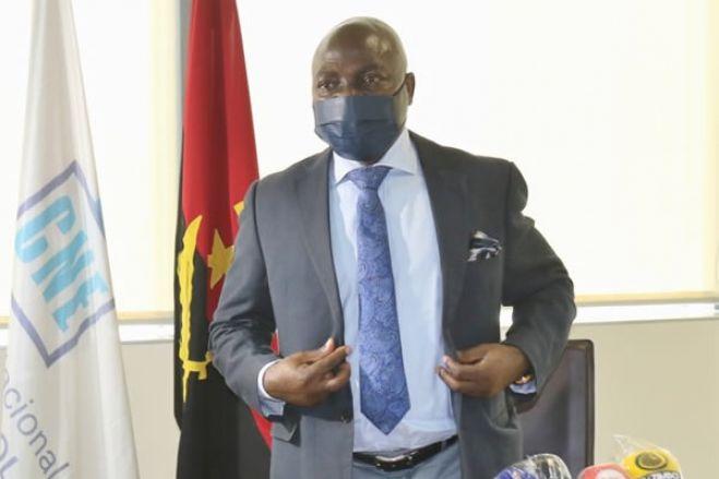 CNE aprovou a renúncia de mandato do presidente da Comissão Eleitoral no Kwanza Sul