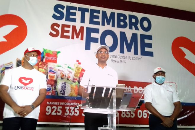 """IURD Angola: Campanha solidária """"Setembro sem fome"""" beneficia mais de um milhão de famílias necessitadas"""