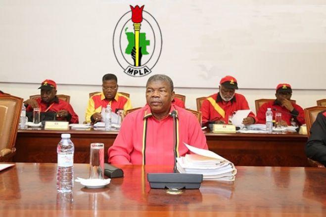 MPLA elogia decisão de João Lourenço em reapreciar lei orgânica da eleições