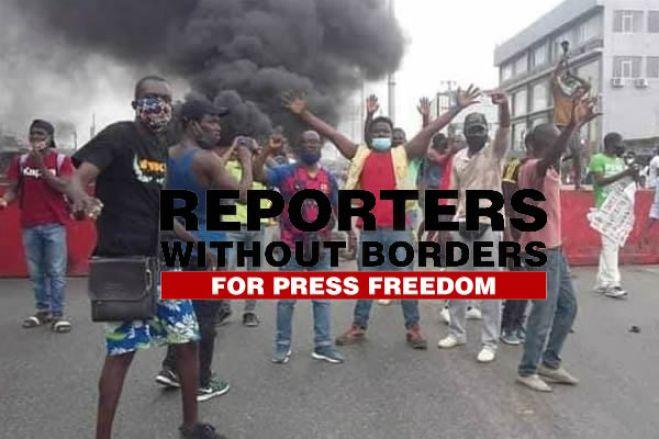 """Repórteres Sem Fronteiras denunciam """"preocupante declínio da liberdade de imprensa"""" em Angola"""