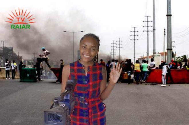 Isabel dos Santos elogia jornalista da TV Raiar ligada à UNITA sobre a cobertura da última manifestação