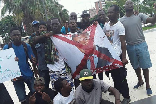Jovens angolanos marcham no sábado contra elevado índice de desemprego no país