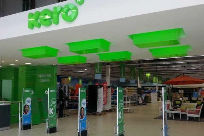 Prateleiras vazias e caixas fechadas são a nova imagem das lojas Kero