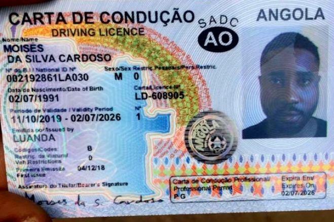 João Lourenço induzido em erro para salvaguardar negócios das Cartas de Condução