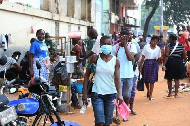Luanda tem em circulação comunitária variantes sul-africana e inglesa do coronavírus