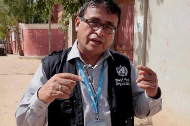 """Representante da OMS em Angola: """"Não se pensa que a doença vai terminar em poucos meses"""""""