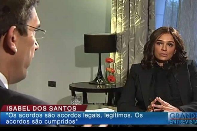 Grande entrevista da RTP / Isabel dos Santos admite concorrer às eleições presidenciais em Angola