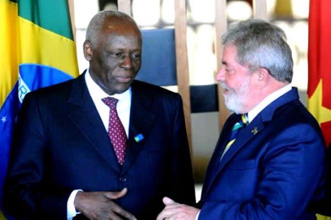 Lula pede depoimento de José Eduardo dos Santos para tentar provar inocência