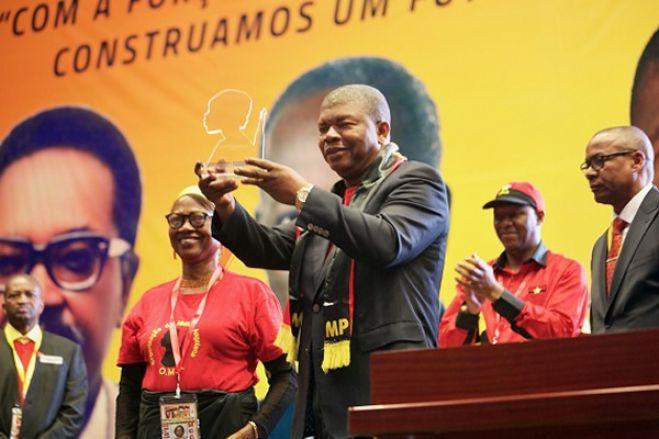 Moções de apoio confirmam a reeleição de João Lourenço como presidente do MPLA no VIII Congresso Ordinário