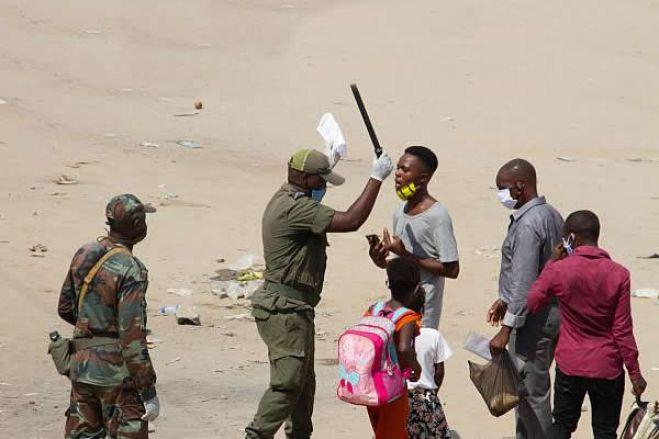 Manifestação em Cabinda termina com nove detidos