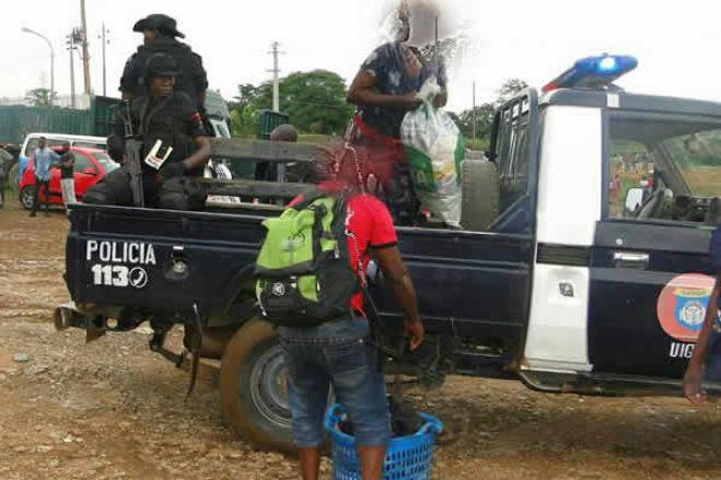 Comandante-Geral da PN orienta uso de cassetetes para impedir circulação de pessoas