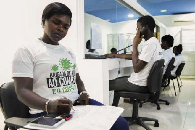 Covid-19: Português cria call center de voluntários em Angola para ajudar a esclarecer dúvidas