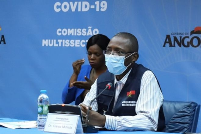 Covid-19: Mais 16 casos em Angola aumenta número de infeções para 541