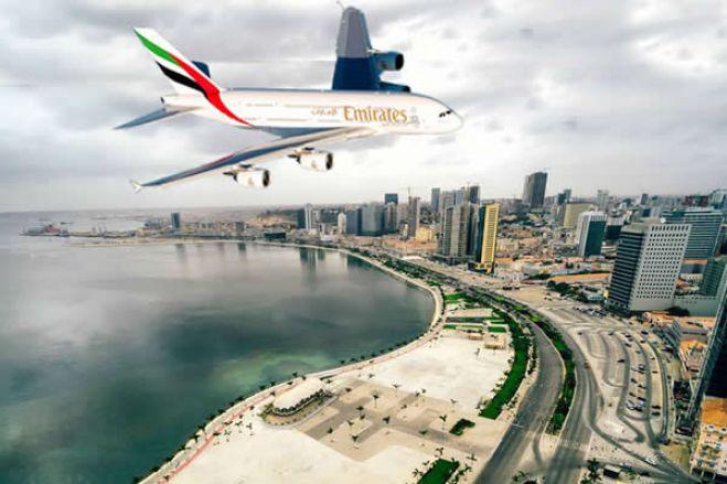 Emirates retoma voos para Angola a partir de 01 de outubro