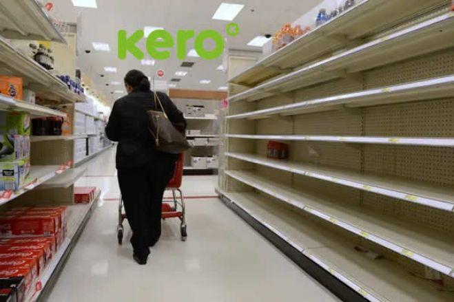 Despedimentos, dívidas e prateleiras vazias fazem o dia-a-dia do Kero