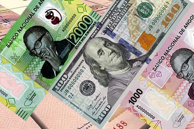 Preço do dólar nas ruas de Luanda com pequena queda de 1,92% esta semana