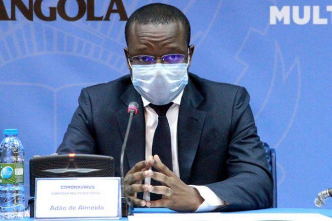 Governo angolano agrava multas pelo não uso da máscara