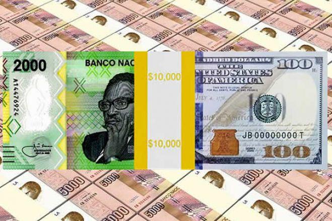Dólar e euro em Luanda registam subida em relação a primeira semana de 2021