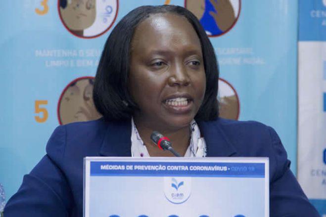Ministra da Saúde de Angola alerta para agravamento de casos de Covid-19 em maio