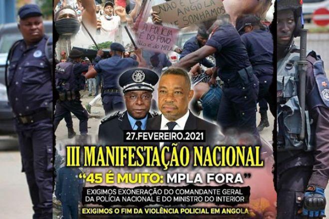 Activistas vão este sábado 27 exigir a destituição de Eugénio Laborinho e Paulo de Almeida