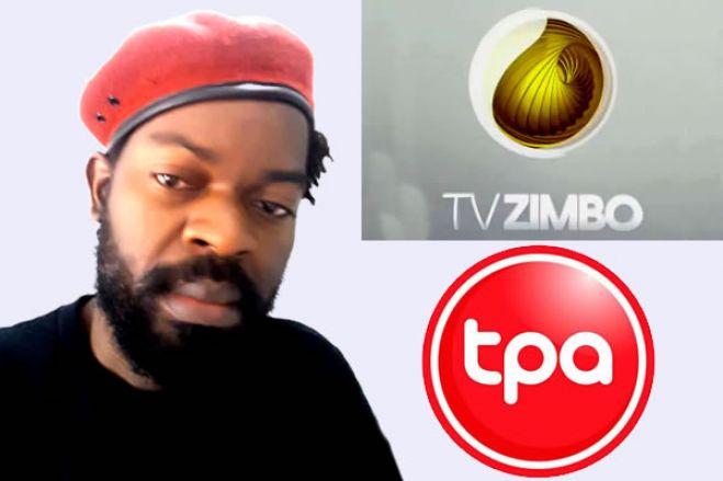 Activista Samussuku acusa a TPA e TV Zimbo de baralhar a opinião pública com Fake News