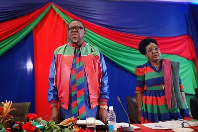 Swapo na última batalha na busca de votos