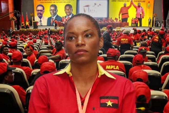 MPLA afasta do comité central e suspende por dois anos militante 'Tchizé' dos Santos
