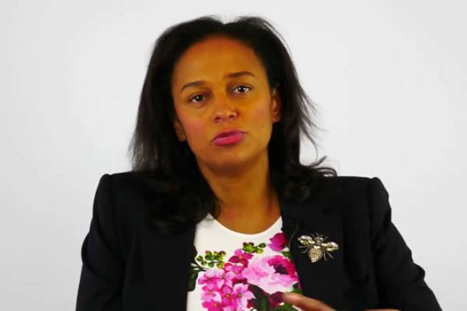 """""""Racismo e preconceito"""": a reação de Isabel dos Santos ao Luanda Leaks"""