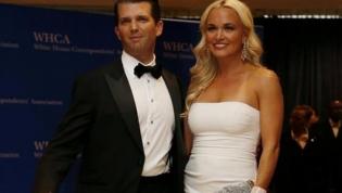 Mulher de Donald Trump Jr. pede o divórcio