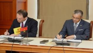 Sonangol e Exxon Mobil assinam memorando para explorar petróleo no Namibe