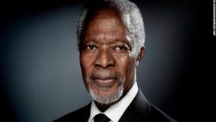 Kofi Annan, ex-secretário geral da ONU, morre aos 80 anos