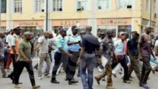 Casa de Segurança esclarece situação salarial de manifestantes