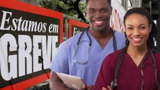 """Adesão """"muito alta"""" à greve dos médicos angolanos - sindicato"""