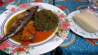 Receita de Kizaka com Peixe Carapau ou com Bagre Fumado