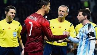 Messi: o mendigo que ajoelhado na frente de Cristiano Ronaldo implorou – lo um golo de feito à palha
