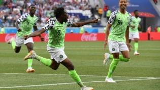 Nigéria vence Islândia e faz sonhar Argentina (2-0)